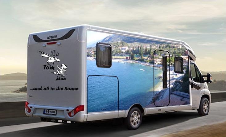 wohnmobil wohnwagen design klimek werbehaus hanau